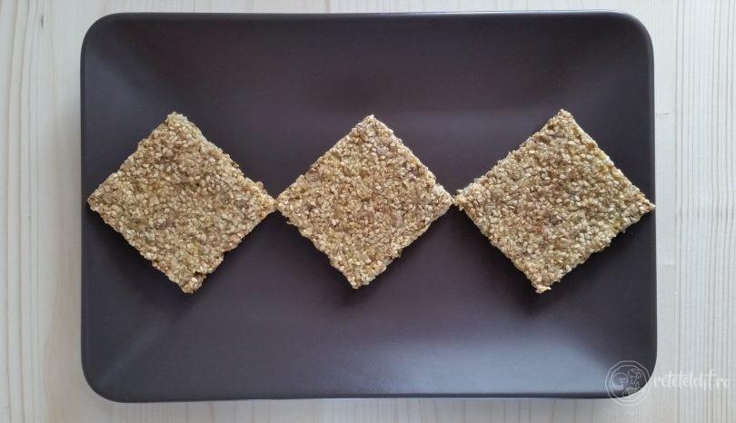 Pâine LCHF cu parmezan