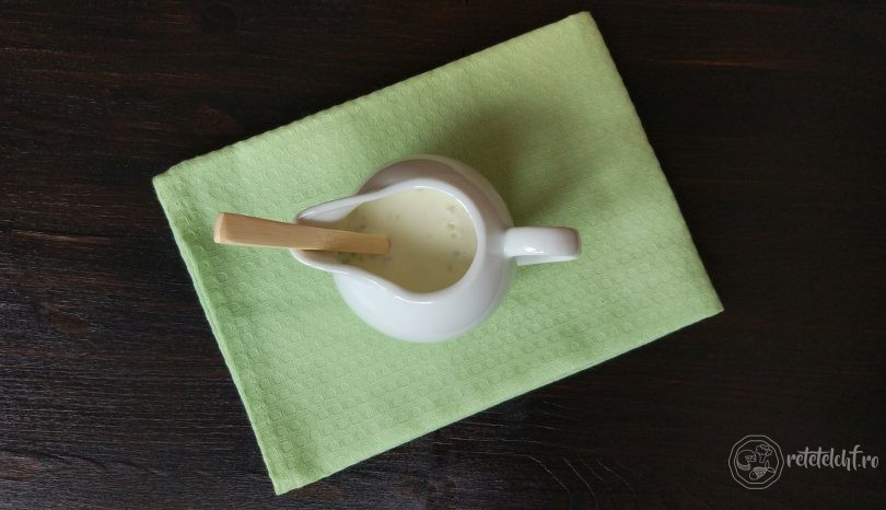 Sos de gorgonzola sau alte brânzeturi