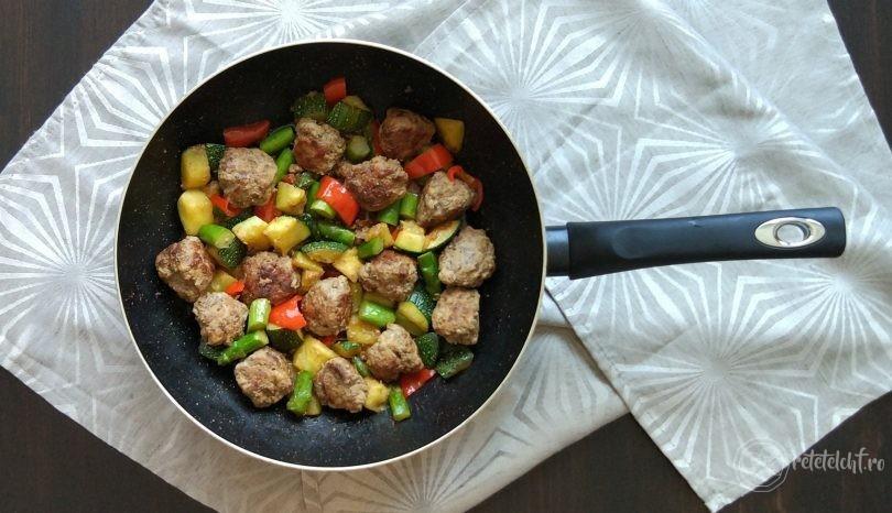 Chifteluțe cu legume