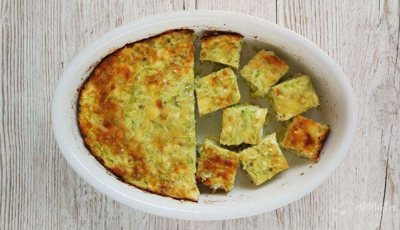 Budincă de dovlecei cu brânză