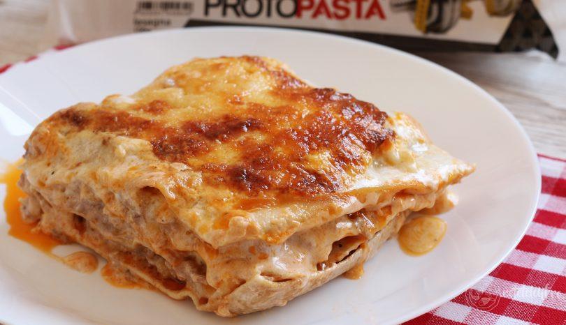 Lasagna low-carb, cu foi proteice Ciao Carb