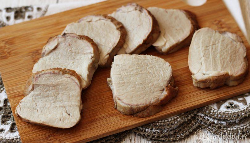 Pastramă de casă din mușchiuleț de porc