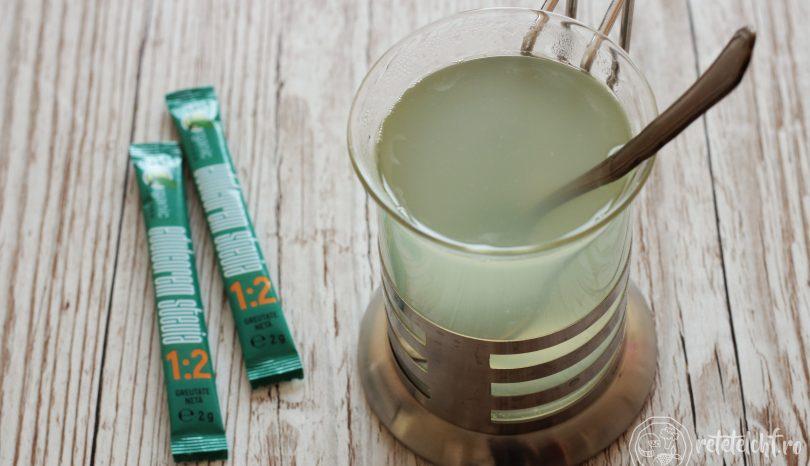 Ghimbir cu lămâie, pentru limonadă sau ceai
