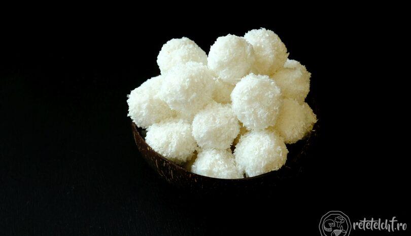 Trufe vegane de cocos