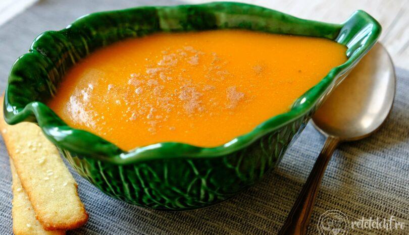 Supă cremă de dovleac copt