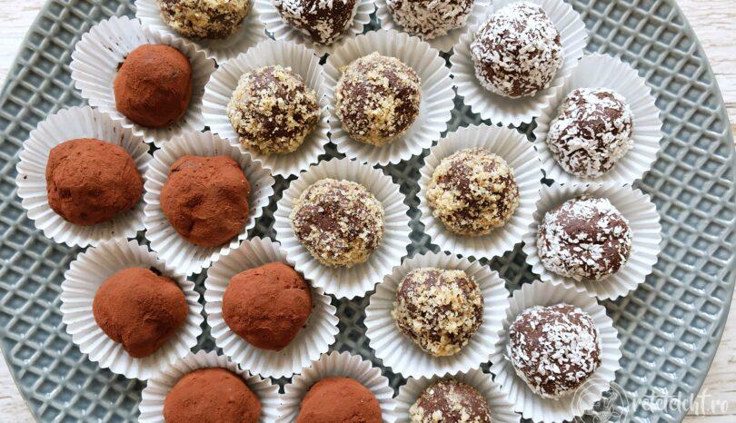 Trufe vegane de ciocolată