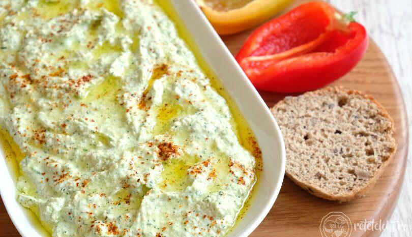 Girit ezmesi – cremă de brânză cu nuci